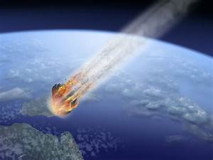 Asteroid Hitting the Earth - Pics about space