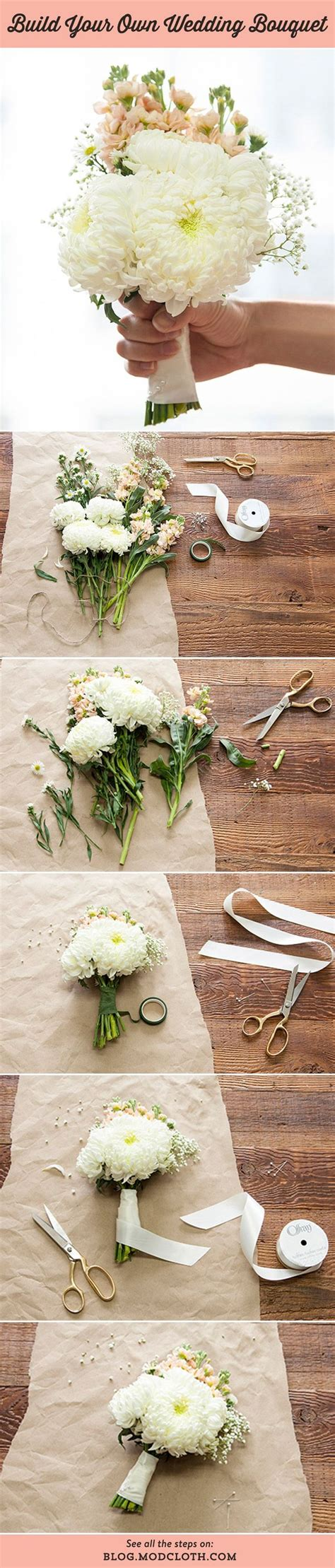 ideas  diy wedding flowers  pinterest diy