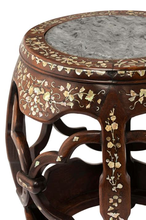 mother of pearl table l round mother of pearl inlay table stand at 1stdibs