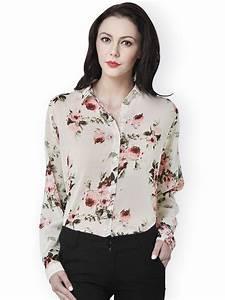 Buy Beige Floral Printed Shirt Online in India at cooliyo ...