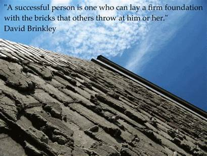 Inspirational Quotes Foundation Motivational Quote Brinkley David
