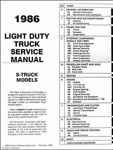 1986 Chevrolet S