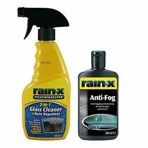 Anti Fog Spray : rain x glass window mirror cleaner rain repellent spray ~ Kayakingforconservation.com Haus und Dekorationen