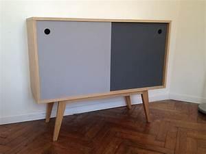 Petit Buffet Scandinave : meuble style norvegien ~ Teatrodelosmanantiales.com Idées de Décoration