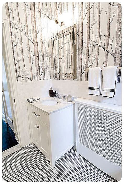 wallpaper bathroom designs ten interior design tips to get subway tile style