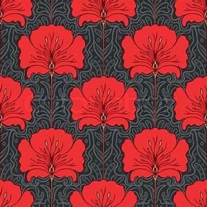 Papier Peint Art Nouveau : art deco wallpaper seamless images ~ Dailycaller-alerts.com Idées de Décoration