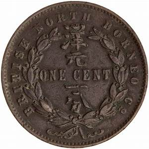 Coins / North Borneo / One Cent 1889 - Online Coin Club