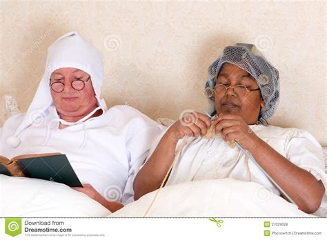 in bed retired in bed royalty free stock images image
