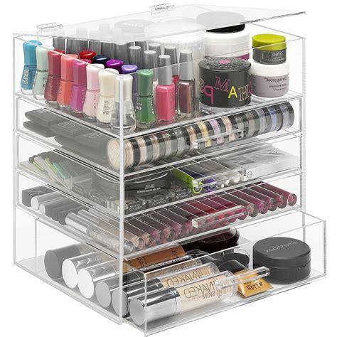 acrylic drawer organizer acrylic organizer with drawers in cosmetic organizers