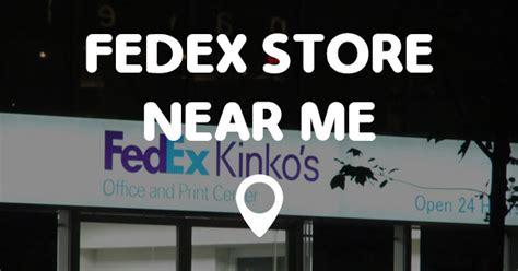 Store Near Me by Fedex Store Near Me Points Near Me