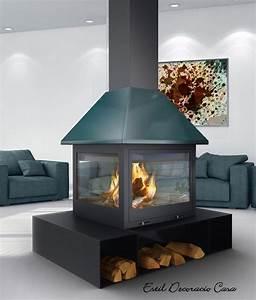 Cheminée Centrale Prix : cheminee 360 degres centrale ~ Premium-room.com Idées de Décoration