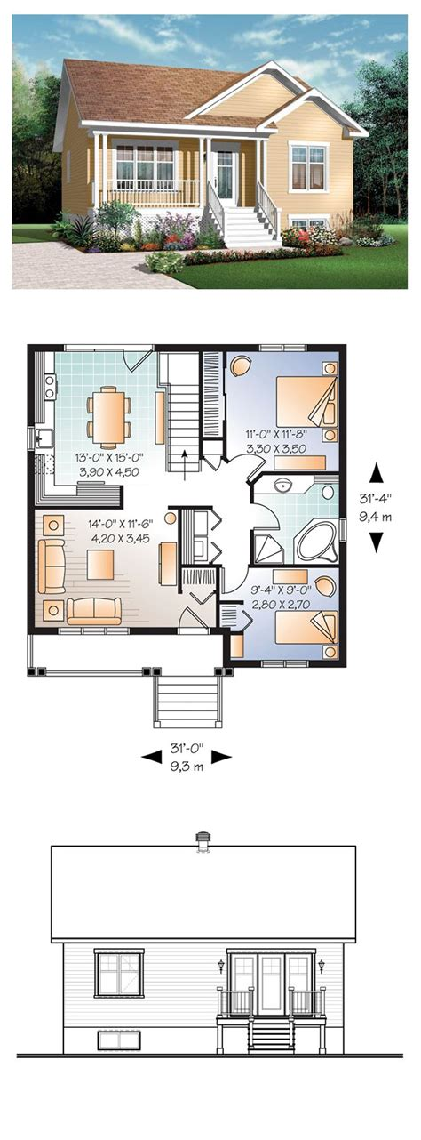 small 2 house plans best 25 small house plans ideas on small home
