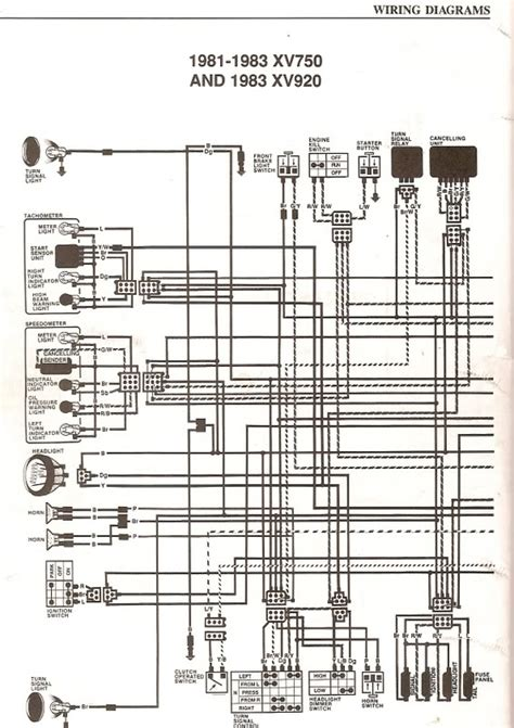 85 Xv700 Wiring Diagram by