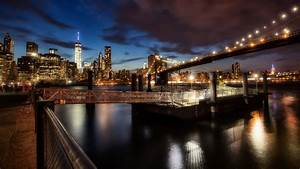 Brooklyn Bridge New York Nights Wallpapers