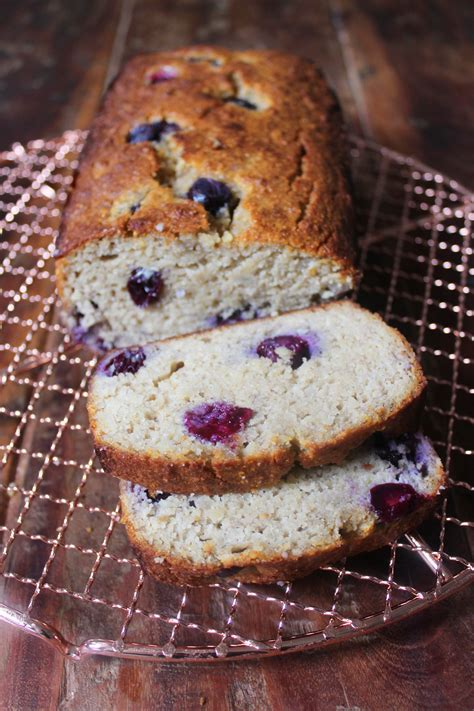 Paleo Blueberry Banana Bread   The Little Green Spoon