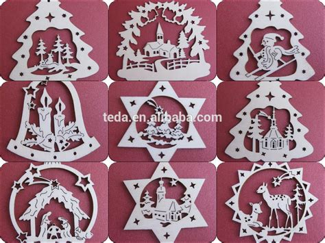 teda laser cut wood christmas ornament patterns buy