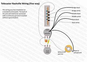 Telecaster Nashville Wiring Diagram