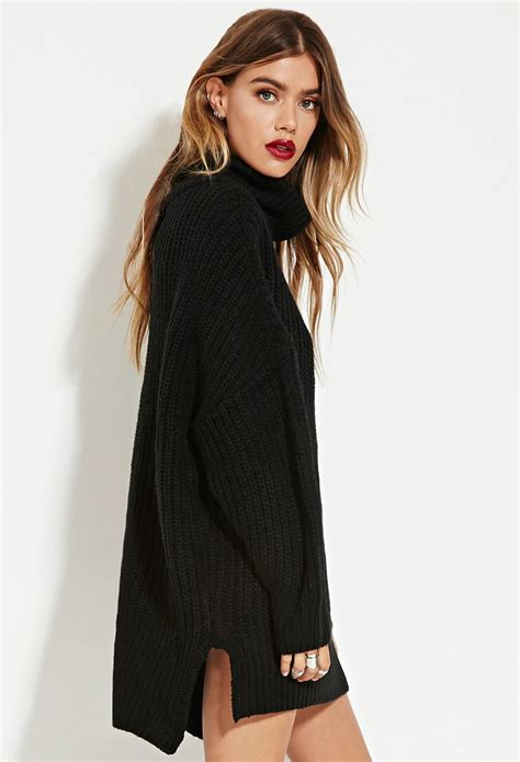 forever 21 sweater dress lyst forever 21 the fifth label in your mind sweater