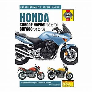 Honda Cb600 F Hornet  U0026 Cbf600 Haynes Workshop Manual