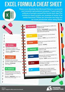 excel formuala cheatsheet training connection With cheat sheet template excel