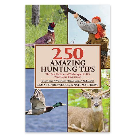250 Amazing Hunting Tips  Budkcom  Knives & Swords At