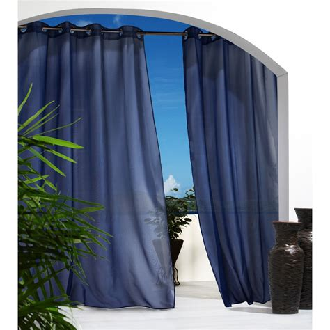 outdoor decor escape semi sheer indoor outdoor curtains