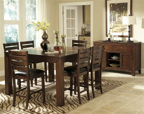 homelegance eagleville pc counter height table set
