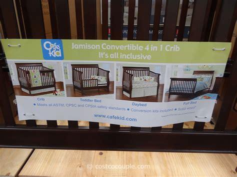 Cafe Kid Jamison Convertible 4 in 1 Crib