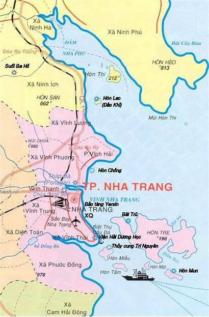 Trang Nha Vietnam India Map Port Chinese