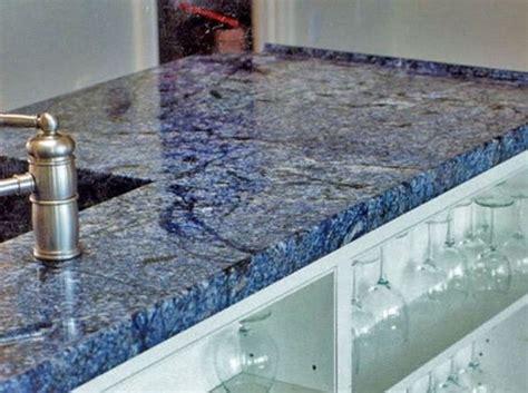 blue quartz countertops granite hanstone kitchen