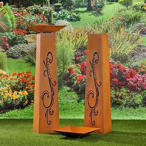Déco Exterieur Jardin : decoration jardin metal rouille ~ Farleysfitness.com Idées de Décoration