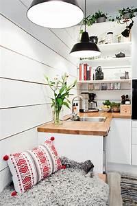 idee decoration cuisine le charme de la cuisine scandinave With idee deco cuisine avec cuisine scandinave moderne