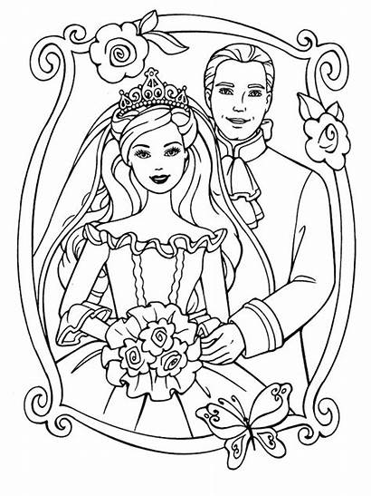 Marry Weddings Coloring Pages Fun