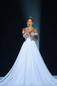 Jennifer lopez39s 39american idol39 gown deconstructed for Jlo wedding dress