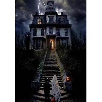 Haunted House. Happy Halloween! by JVS007 on DeviantArt
