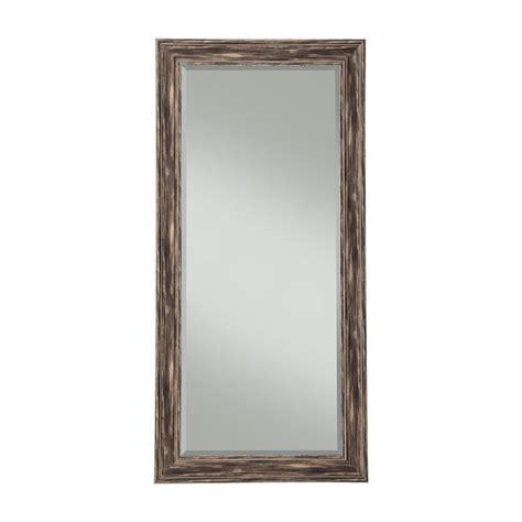 floor mirror home depot sandberg furniture farmhouse antique black length leaner mirror 18111 the home depot