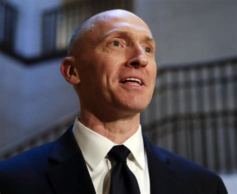 carter page suggested trump travel  russia