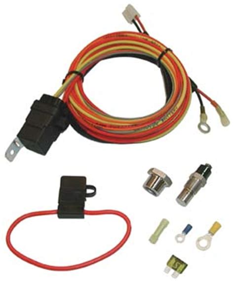 Mustang Spal Electric Fan Degree Thermoswitch Relay