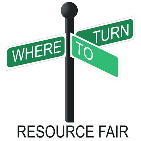 Event Logo Inspiration Where to Turn Resource Fair MK