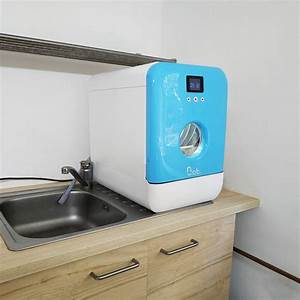 Machine à Laver La Vaisselle : voici bob un mini lave vaisselle ultra compact et super ~ Melissatoandfro.com Idées de Décoration