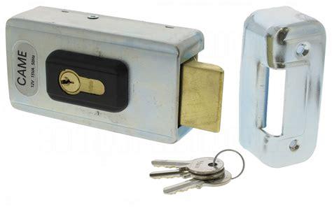 serrure electrique portail serrure 233 lectrique came lock81 avec cylindre simple 141 10