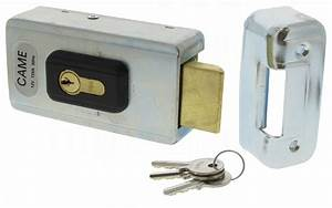 serrure electrique came lock81 avec cylindre simple 14110 With serrure electrique