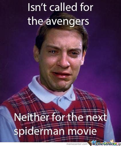 Tobey Maguire Meme - bad luck tobey maguire by deansmith1197 meme center