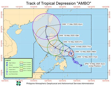 """It is considered as one of the furthermost advanced radar station in the world. PAGASA Weather Update for TD """"Ambo"""" as of 4:00 AM, 12 May ..."""