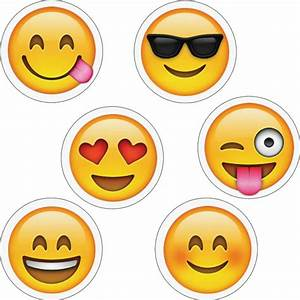 Emoji Decor And Sticker Set