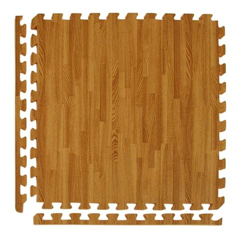 greatmats wood grain reversible wood 24 in x 24