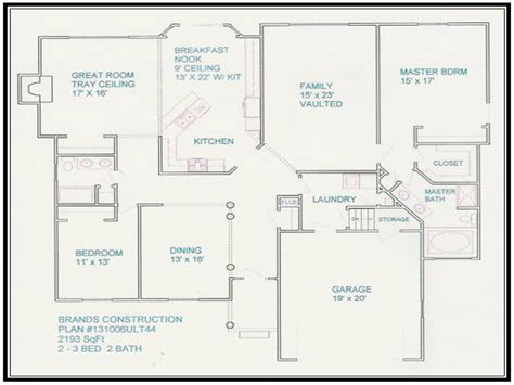 a floor plan of your house free house floor plans and designs design your own floor