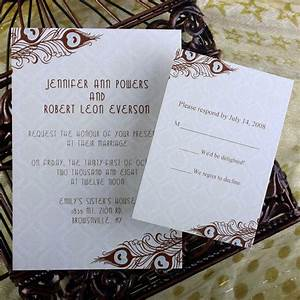 Cheap peacock wedding invitations online at for Inexpensive peacock wedding invitations