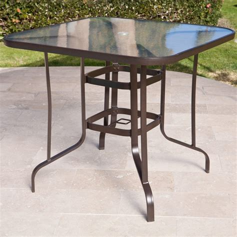 pub height patio table furniture bar counter height condo balcony patio