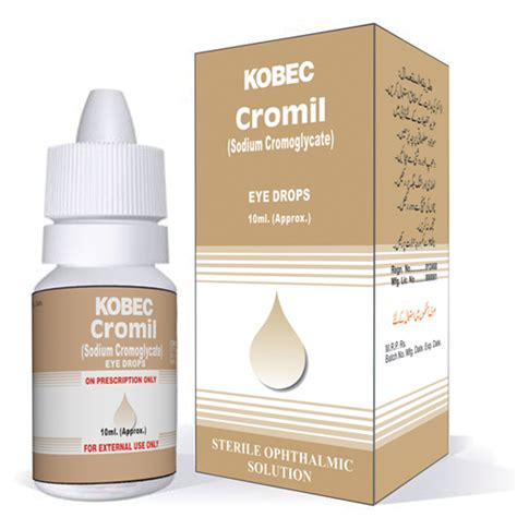 cromil ophthalmic solution kobec health sciences